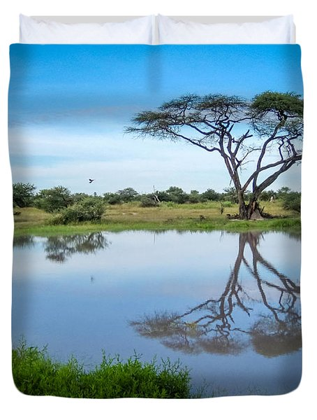 Acacia Tree Duvet Cover