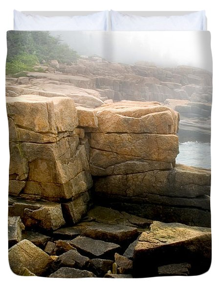 Acadia Morning 7647 Duvet Cover by Brent L Ander