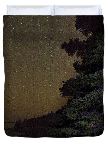Acadia Stars 01 Duvet Cover by Brent L Ander