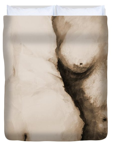 Acceptance Duvet Cover by Rory Sagner