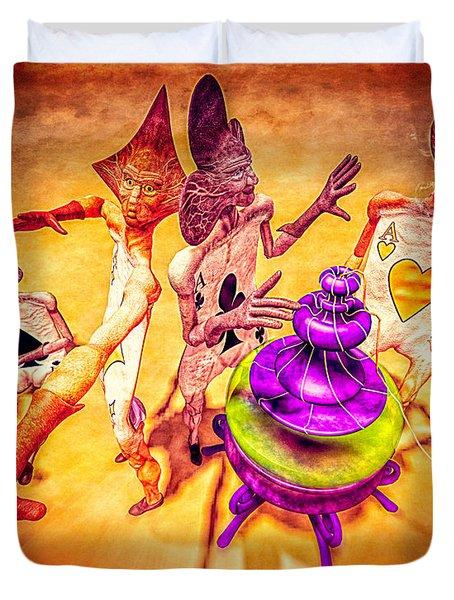 Aces High Duvet Cover by Bob Orsillo