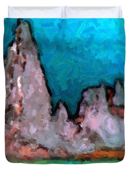 Acid Lake Duvet Cover