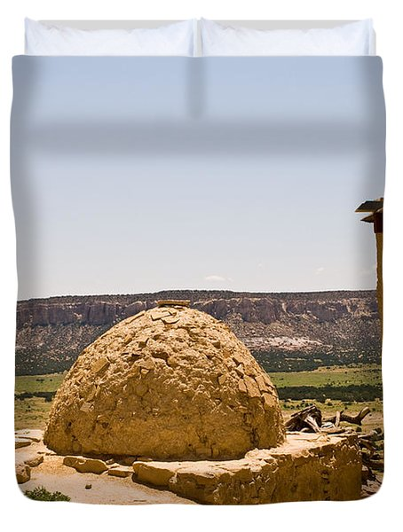 Acoma Oven Duvet Cover by James Gay