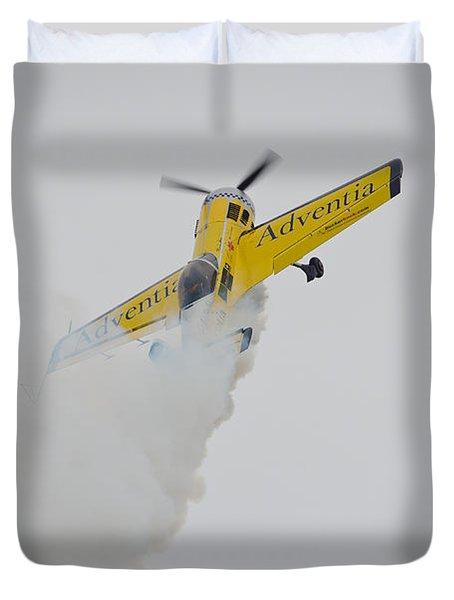 Aerobatics At Cuatro Vientos II Duvet Cover