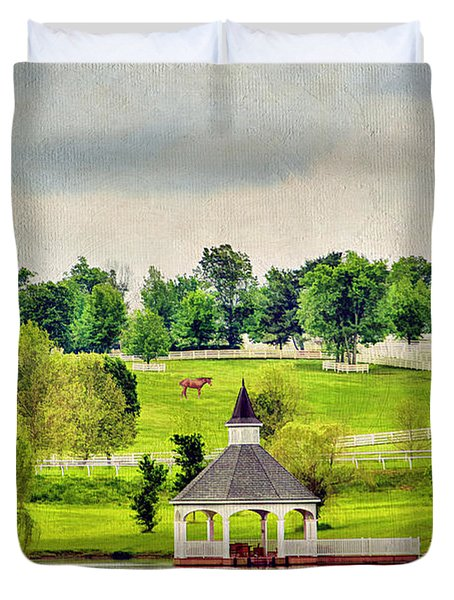 Across The Pond Duvet Cover by Darren Fisher