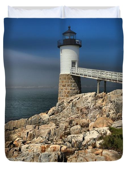 Across The Seas Duvet Cover by Adam Jewell