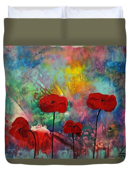 Acrylic Msc 078 Duvet Cover