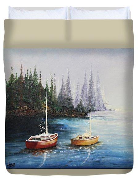 Acrylic Msc 110  Duvet Cover