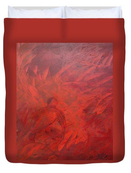 Acrylic Msc 181 Duvet Cover