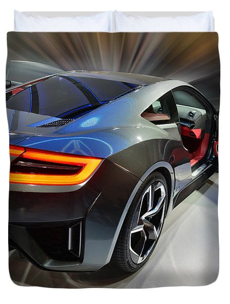 Acura N S X  Concept 2013 Duvet Cover