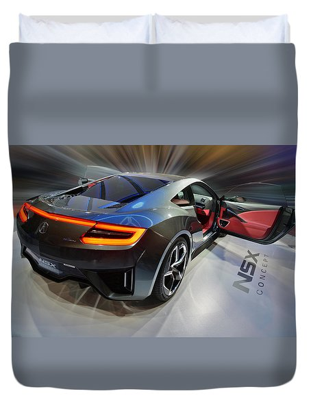 Acura N S X  Concept 2013 Duvet Cover