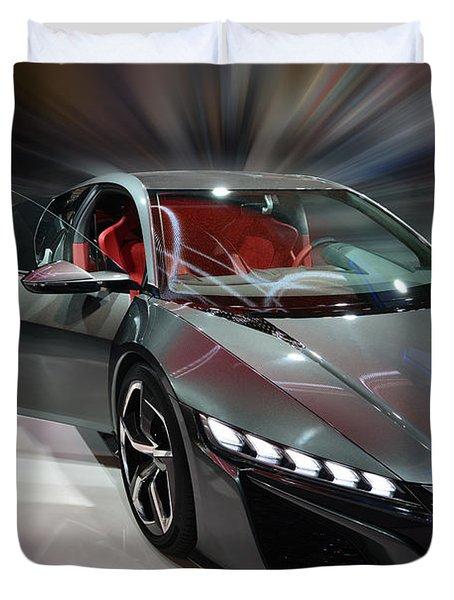 Acura Nsx Concept 2013 Duvet Cover