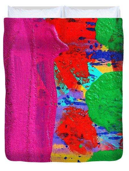 Ad Libitum Duvet Cover by John  Nolan