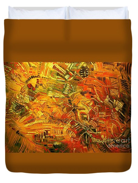 Adaptation Duvet Cover by Michael Kulick