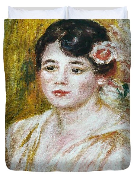 Adele Besson Duvet Cover by Pierre-Auguste Renoir