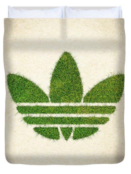Adidas Grass Logo Duvet Cover