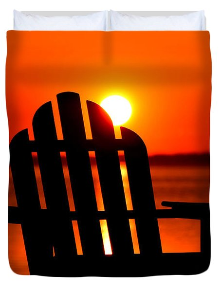 Adirondack Days End Duvet Cover
