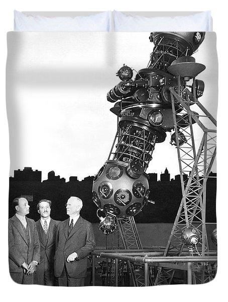 Adler Planetarium Projector Duvet Cover