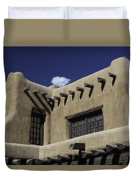 Adobe Architecture 01 Duvet Cover
