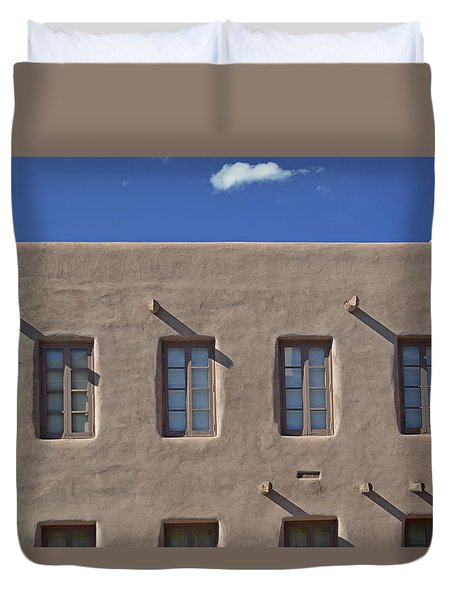 Adobe Architecture II Duvet Cover