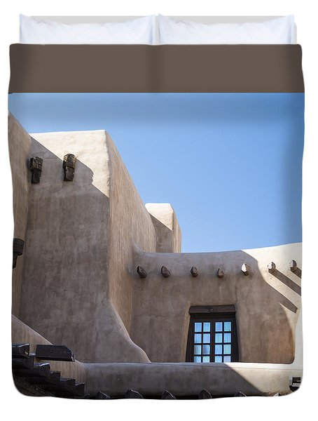 Adobe Sky Duvet Cover