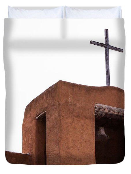 Adobe Steeple Duvet Cover