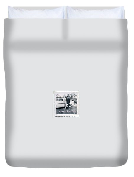 Adoption Saves Lives Duvet Cover