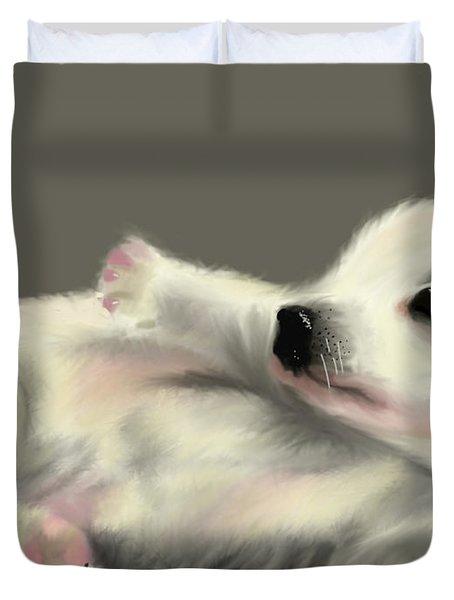 Adorable Pup Duvet Cover