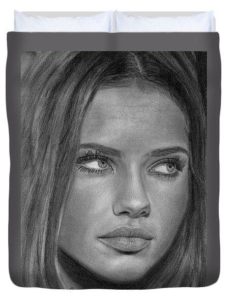 Adriana Lima 2 Duvet Cover