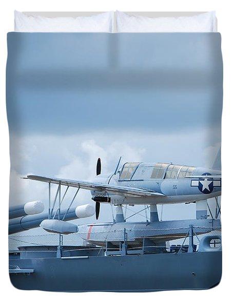 Battleship Advance Craft Duvet Cover