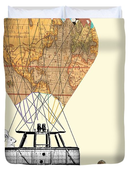 Adventure Days  Duvet Cover