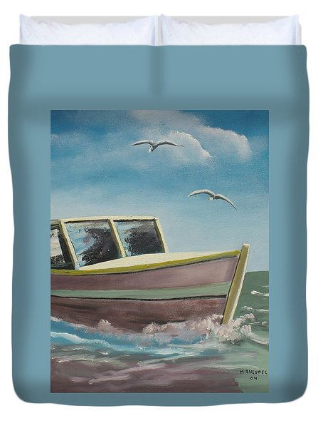 Adventure  Duvet Cover by Marcel Quesnel