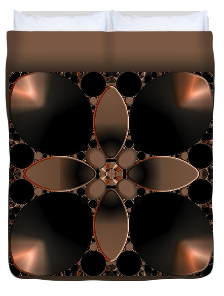 Affinity 2 Duvet Cover by Judi Suni Hall