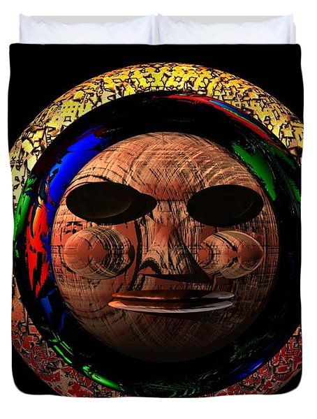 African Mask Series 2 Duvet Cover