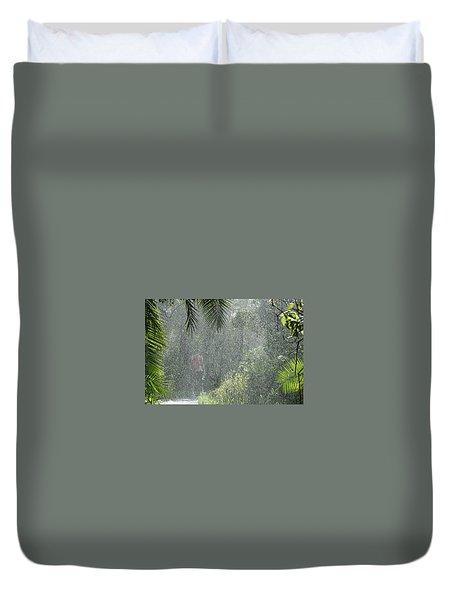African Rain Duvet Cover