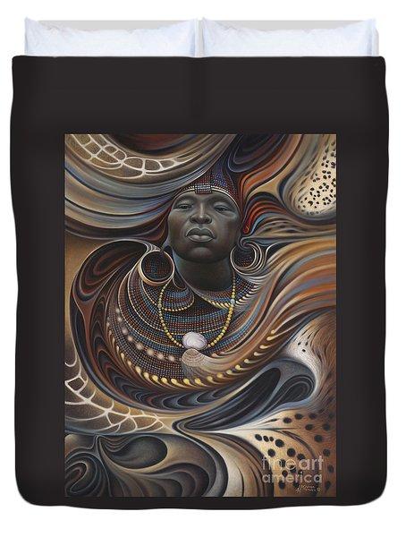 African Spirits I Duvet Cover