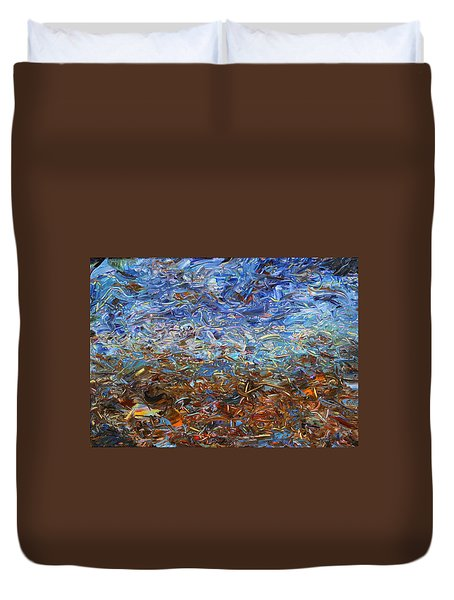 After A Rain Duvet Cover by James W Johnson