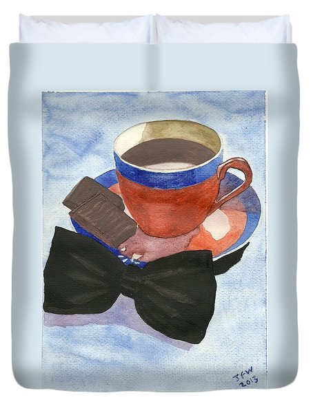 After Dinner Mints Duvet Cover by John Williams
