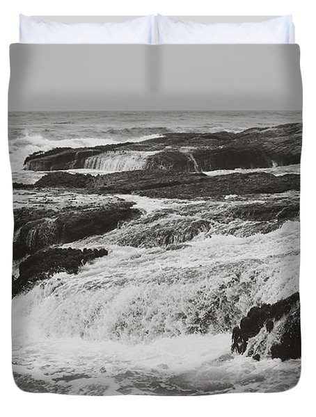 After The Crash Duvet Cover