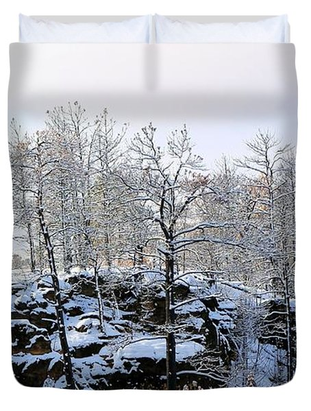 After The Fire Duvet Cover
