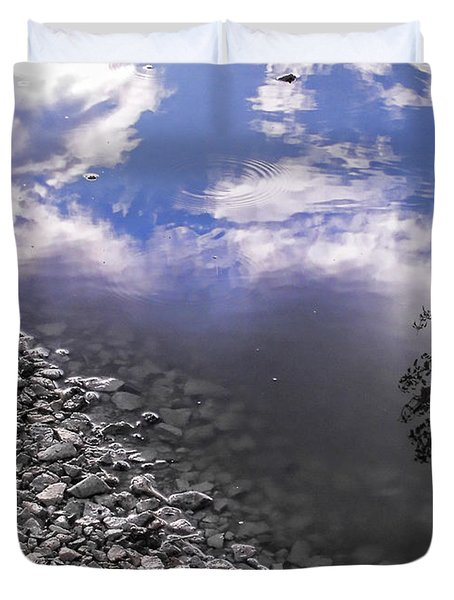 After The Rain Duvet Cover by Kristie  Bonnewell