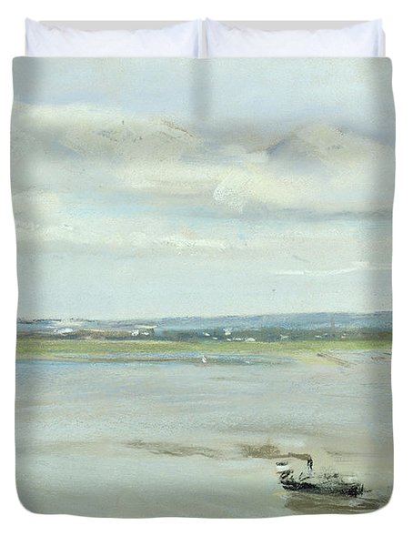 After The Rain Duvet Cover by Max Liebermann