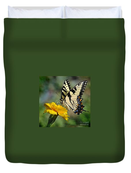 Duvet Cover featuring the photograph After The Rain by Nava Thompson
