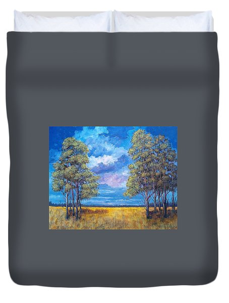 After The Rain Duvet Cover by Suzanne Theis