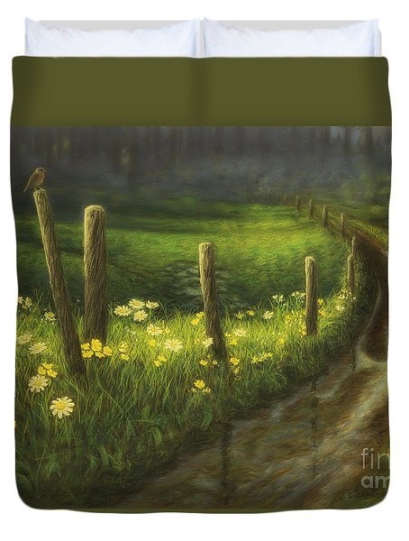 After The Rain Duvet Cover by Veikko Suikkanen