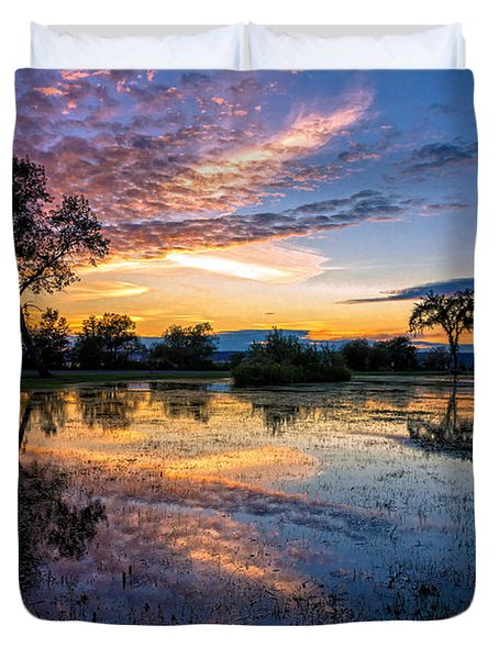 After The Rains Duvet Cover by Mary Amerman