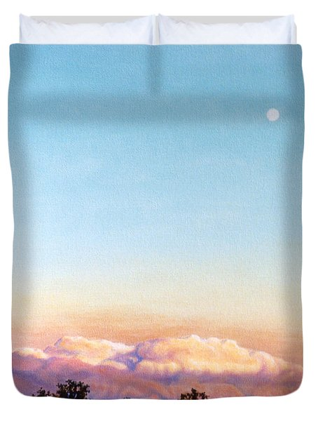Duvet Cover featuring the painting After The Storm by Craig T Burgwardt