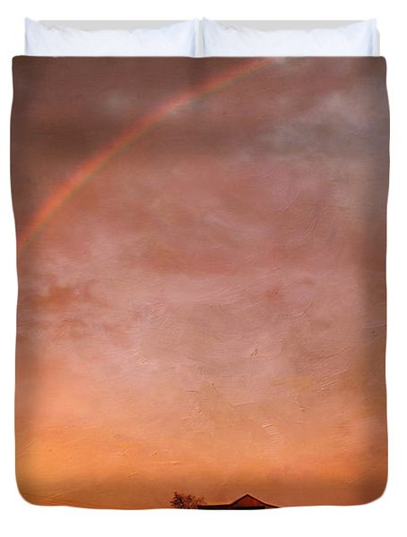 After The Storm Duvet Cover by Darren Fisher