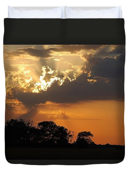 After The Storm Duvet Cover by Francie Davis