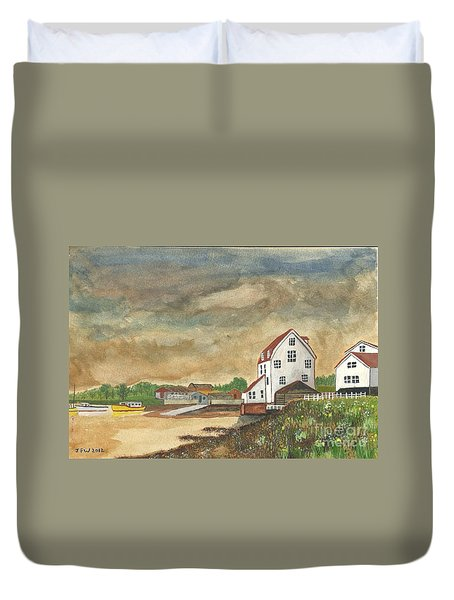 Duvet Cover featuring the painting After The Storm by John Williams